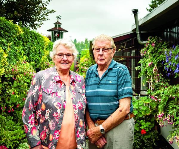 Echtpaar Borghuis-Nordkamp 60 jaar getrouwd