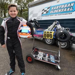 Kartrijder Mart Bult (11) gaat naar Le Mans!