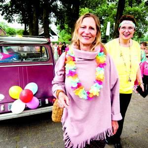 Juf Ria Boerman op festival uitgezwaaid bij De Linde