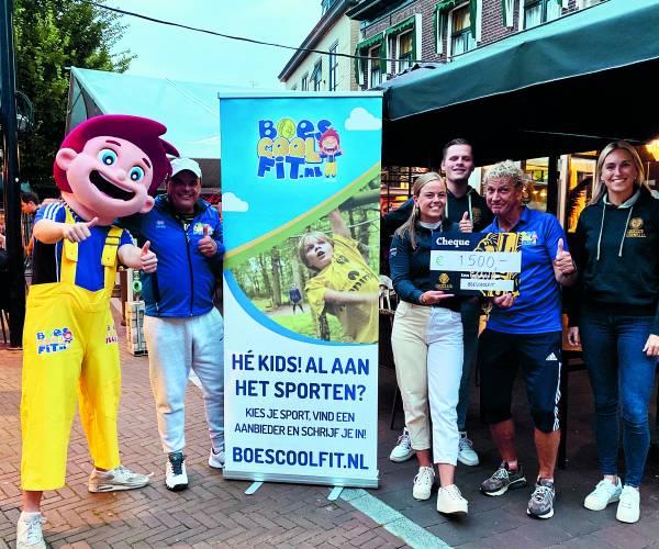 Boescoolfit krijgt support van Leo Club Oldenzaal