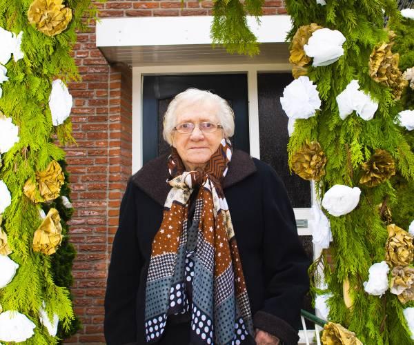 Mevrouw Grashof-Hesselink 100 jaar oud
