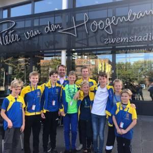 OZ&PC zwemt met twee teams op de Nederlandse Estafette Kampioenschappen