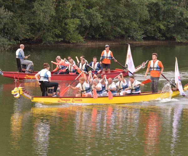 Drakenbootrace Ronde Tafel Oldenzaal trekt 32 teams
