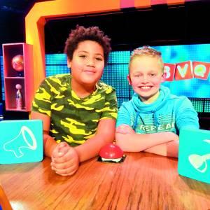 FOTO'S<br />Kian en Noah bij Beste Vrienden Quiz