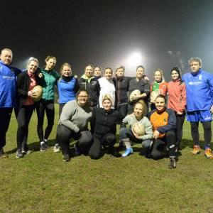 Vrouwen ontdekken rugby bij Harlequins