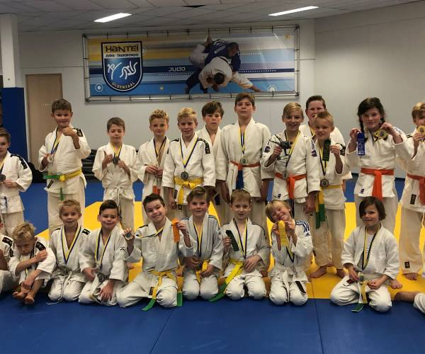 Eerste Vanentoernooi judo Hantei in coronatijd is groot succes