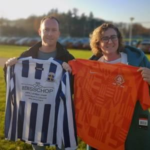 Actie 'Shirtje ruilen' doet VV Oldenzaal aan
