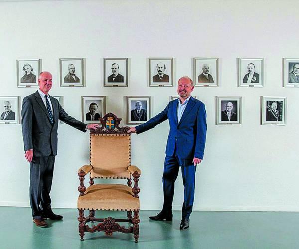 De burgemeestersstoel van Gijsbert Waller komt terug naar Oldenzaal