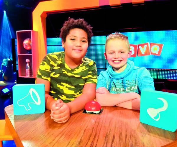 FOTO'S Kian en Noah bij Beste Vrienden Quiz