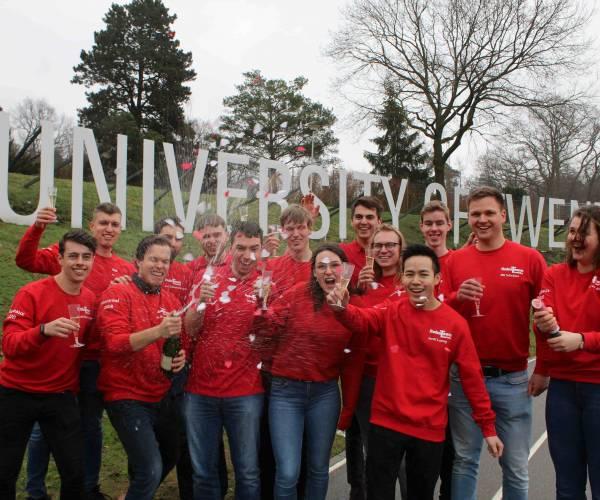 RoboTeam Twente gekwalificeerd voor WK robotvoetbal