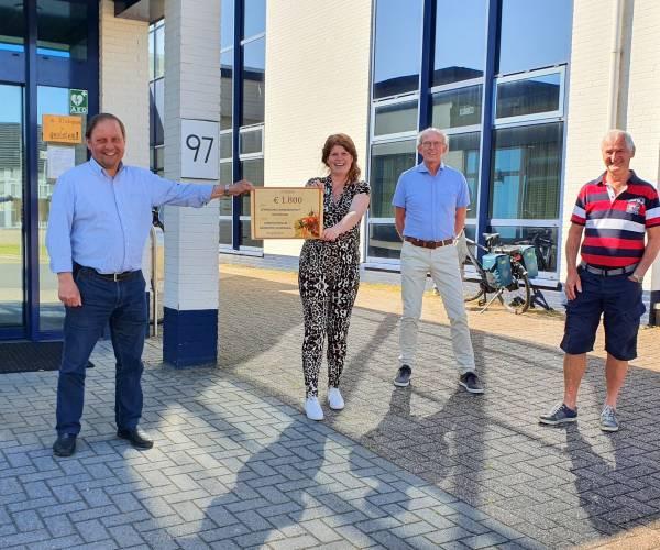 Donatie Computerclub voor Vereniging Armoedepreventie Oldenzaal