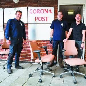 Coronapost Oldenzaal ontmanteld