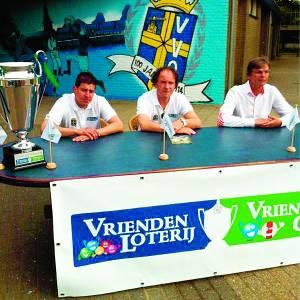 Trainersduo eerste elftal vv Oldenzaal