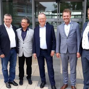 Werkbezoek Oldenzaal en Provincie bij Minister-President Niedersachsen