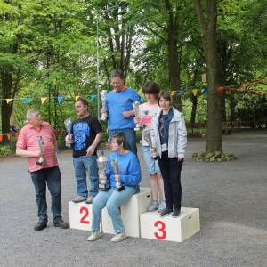 Leden OJBV succesvol bij Klavertje Vier toernooi