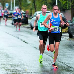 Parcoursrecord verbroken tijdens halve marathon Oldenzaal
