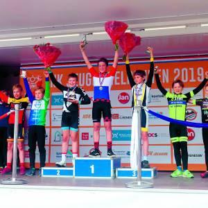 OWC jeugd pakt podiumplaatsen op NK jeugdwielrennen