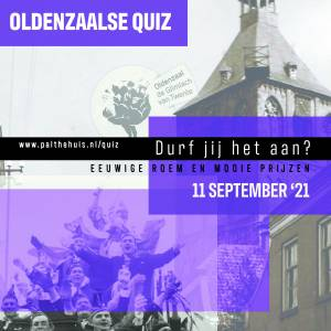 11 September de grote Oldenzaalse Quiz 2021