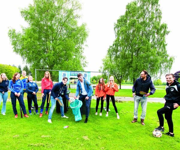 Project Recreatiepark Het Hulsbeek en FC Noaber: 'Ploggen' oftewel Opgeruimd Sporten