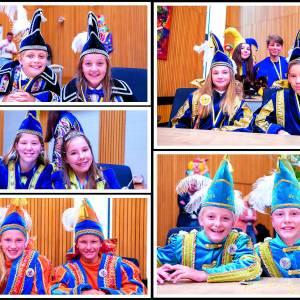 Ontvangst Jeugdhoogheden door burgemeester Patrick Welman<br />Basisscholen in Oldenzaal hebben toch (zomer)carnaval