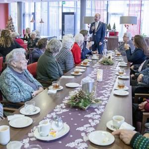 College en raadsreden op nieuwjaarsvisite bij bewoners zorginstellingen
