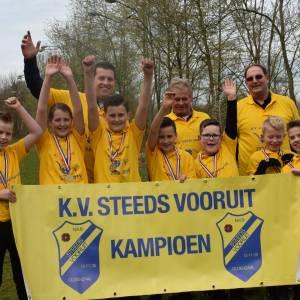 Junioren KV Steeds Vooruit Nederlands kampioen